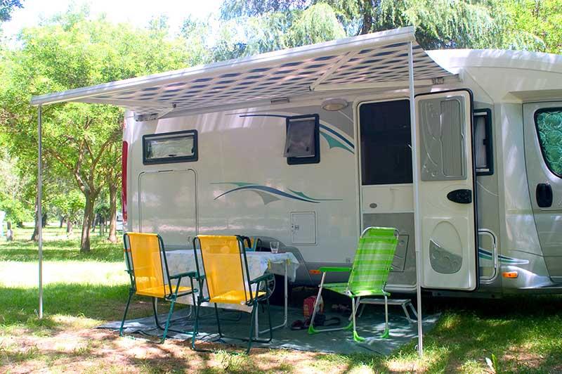 Lavadoras y secadoras comerciales para campings
